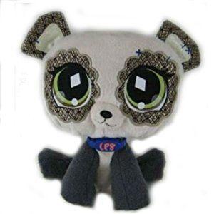 Littlest Pet Shop Panda Plush Diamond Eyes NWOT